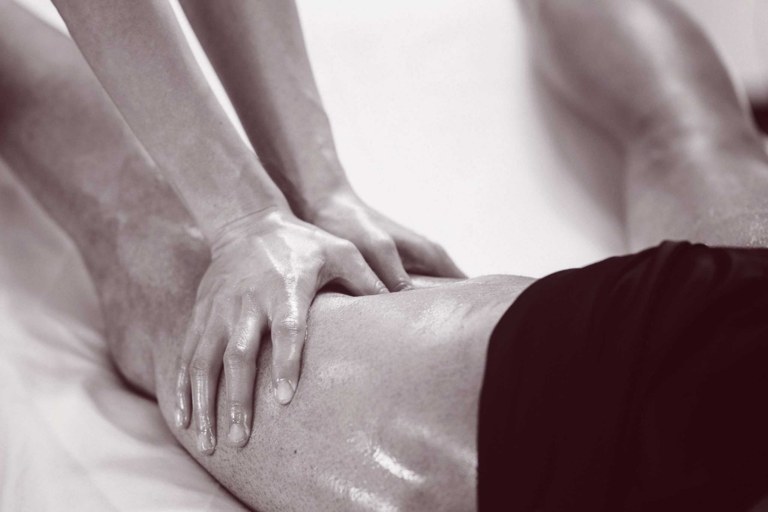 sports rehabilitation massage