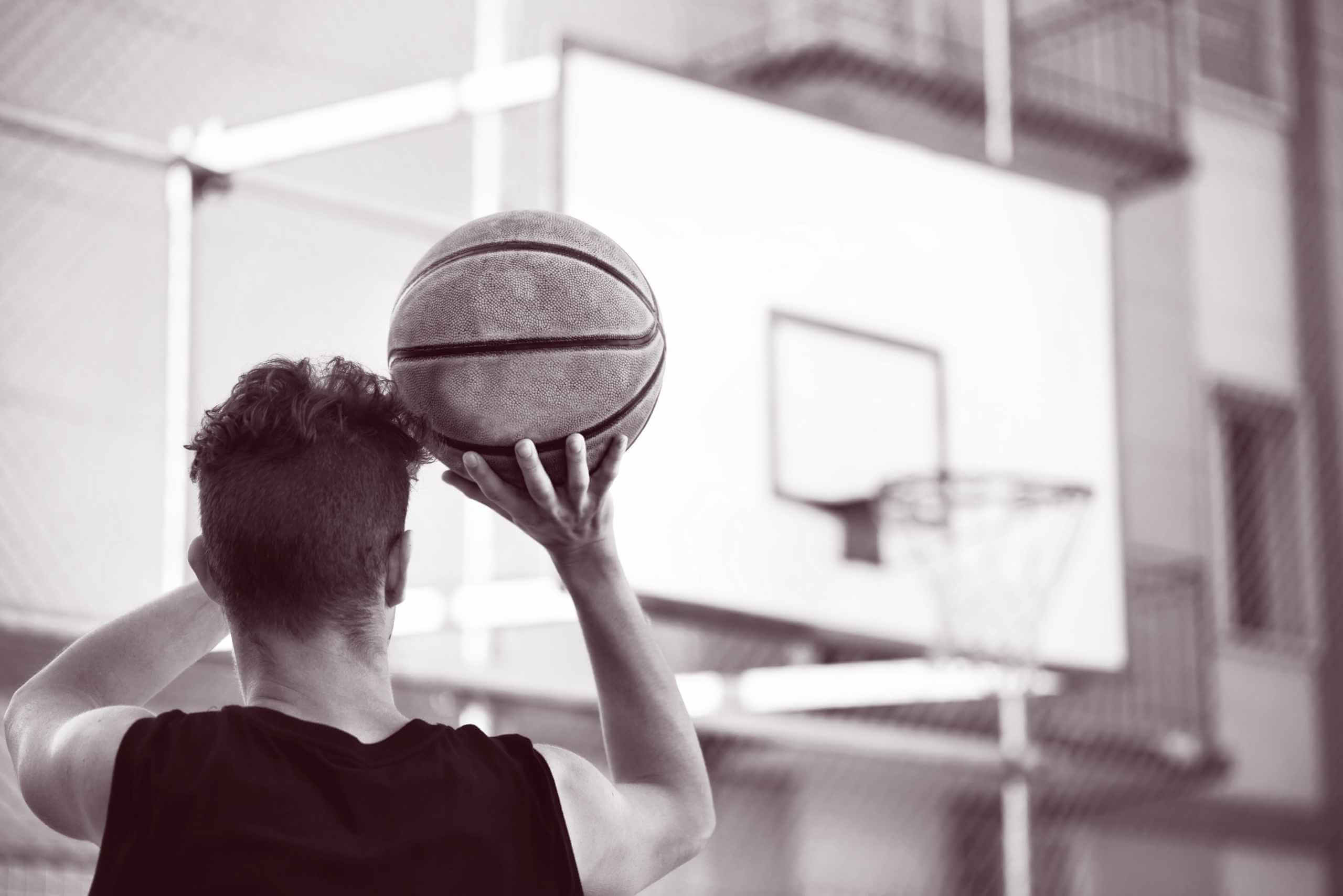 Basketball player - The Effects of Instrument-Assisted Soft Tissue Mobilization, Tissue Flossing, and Kinesiology Taping on Shoulder Functional Capacities in Amateur Athletes